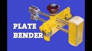 Diy Sheet Metal Bender From Bearings