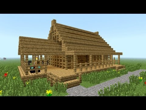 MINECRAFT How to build little wooden house