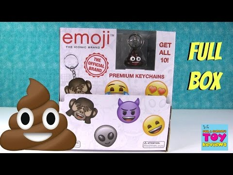 Xxx Mp4 Emoji Brand Blind Bag Keychains Full Set Rare Chase Toy Review Opening PSToyReviews 3gp Sex