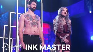 Ryan Ashley's 24-Hour Master Canvas - Ink Master, Season 8