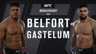 UFC Fight Night 106: Belfort vs. Gastelum (full fight)