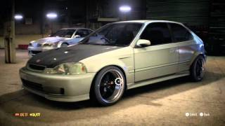Need For Speed Walkthrough Part 14 - Odd Rims All That Time! - Honda Civic (No Commentary)