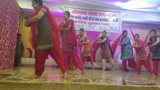 Punjabi gidda and bhangra