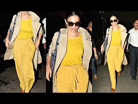 Xxx Mp4 Deepika Padukone Hot In Bright Yellow Airport Look 3gp Sex