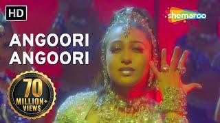 Angoori Angoori - Jaanwar Songs - Karisma Kapoor - Ashutosh Rana - Sapna Avasthi - Dance