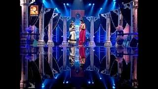 Super Dancer Junior 7, Saptha , Black & White  Round