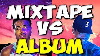 MIXTAPE VS ALBUM IN 2017 - What are the differences today?