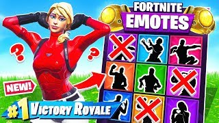 GUESS The EMOTE *NEW* Game Mode in Fortnite Battle Royale