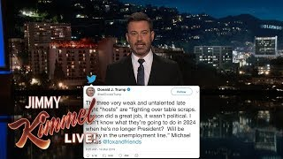 Trump Continues Attacks on Late Night Hosts