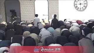 Day 28 - Taraweeh Prayer 2018: Qari Zakaullah Saleem | Abdullahi Hussein