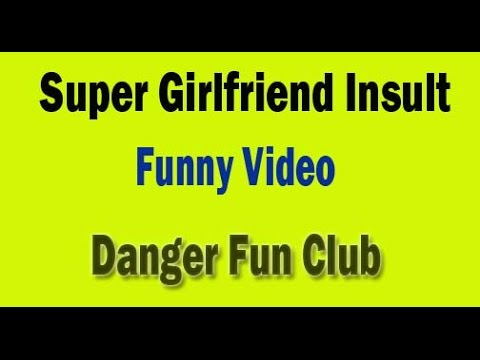 Whatsapp Funny Videos | Super girlfriend Insult Funny Video | Try Not to Laugh Challenge