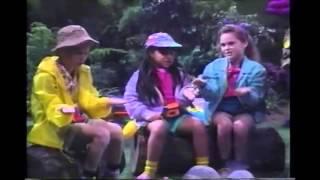 Opening/Closing to Barney & The Backyard Gang: Waiting for Santa 1990 VHS (2)