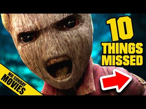 GUARDIANS OF THE GALAXY Vol. 2 Trailer Easter Eggs & Things Missed