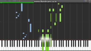 [Synthesia][MIDI] Howl's Moving Castle - Merry Go Round Life (인생의 회전목마)