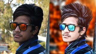 How To Edit Face & Hair Like CB Edits | Real CB Edit | Photoshop CC Tutorial
