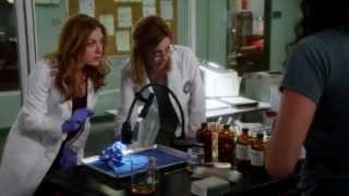 Rizzoli & Isles Janet Tamaro Inside Episode 305
