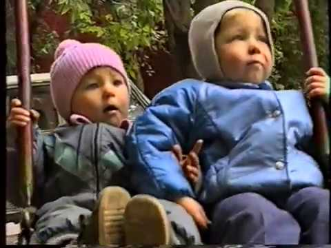 Не прогулке. Коля и Лена. 13.09.1993