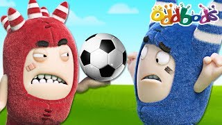 Oddbods - FOOTBALL FANATIC | NEW Full Episodes | The Oddbods Show | Funny Cartoons For Children