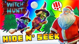 CHRISTMAS PROP HUNT! WHO'S ON THE NAUGHTY LIST? (Witch Hunt Funny Moments)