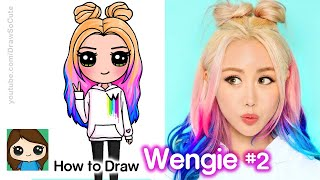 How to Draw Wengie | Famous YouTuber (New)