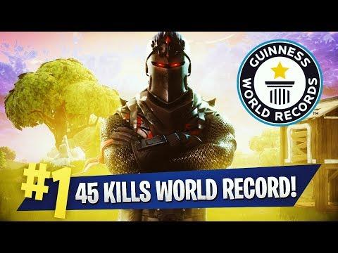 45 KILLS WORLD RECORD TEEQZY VS SQUAD FORTNITE BATTLE ROYALE GAMEPLAY SOLO VS. SQUAD