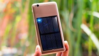 FREE ENERGY SOLAR Emergency Mobile Phone Charger -DIY