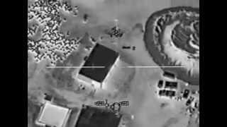 Máy bay AC-130 tấn công nhà an toàn của taliban (Chục quả pháo cho 1 Taliban..)