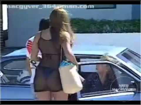 Pegadinha Gostosa no carro