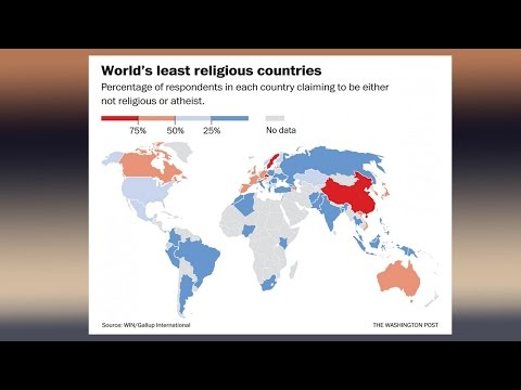 watch What Are Most & Least Religious Countries?