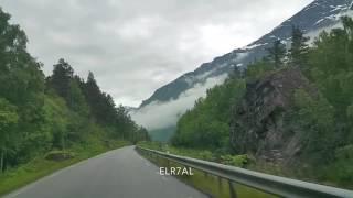 سورة الحجر مع القارئ الشيخ هزاع البلوشي في احد شوارع النرويج