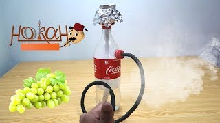 How to Make Hookah out of Coca Cola Bottle | Homemade Hookah