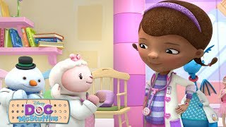 Baby Dolls First Check Up | Doc McStuffins | Disney Junior