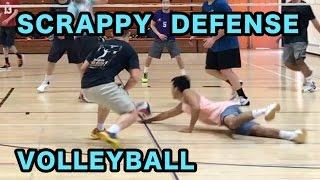 SCRAPPY DEFENSE - Advantage Play vs Tall Ones Volleyball Highlights