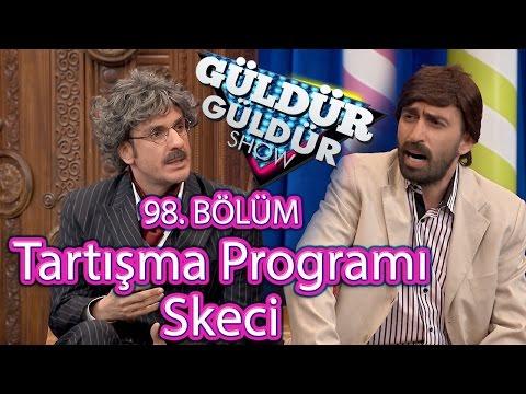 Güldür Güldür Show 98. Bölüm, Tartışma Programı Skeci