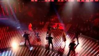 Cast of Glee perform Don #39;t Stop Believing   The X Factor