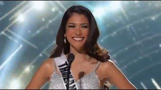 FULL 2015 Miss Universe Preliminary - THAILAND Aniporn Chalermburanawong