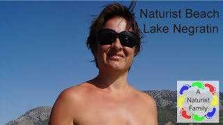A Naturist Family # 10 Lake Negratin Naturist Beach