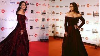 Kajol Hot At Red Carpet Jio Filmfare Awards 2018