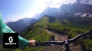 MAN, WHAT A TRAIL! POV w/Julien Fournier- Champéry, Switzerland