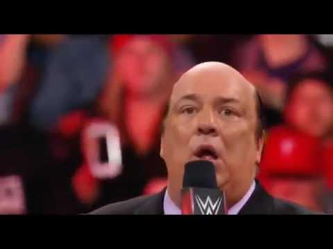CNATV Brock Lesnar vs Goldberg Face To Face Goldberg Attack Brock Lesnar WWE RAW 27