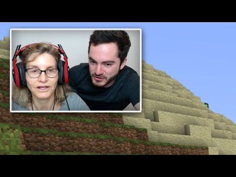 MY MOM PLAYS MINECRAFT