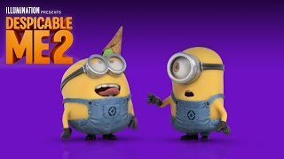 "Despicable Me 2 - ""Happy"" Lyric Video by Pharrell Williams - Illumination"