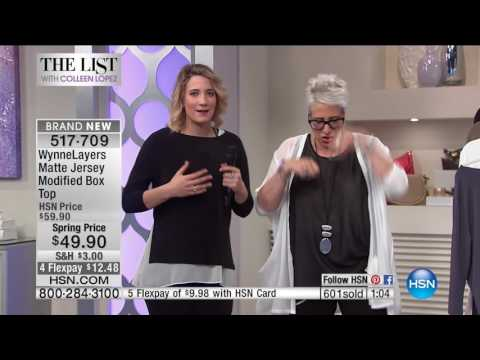 HSN   The List with Colleen Lopez 03.23.2017 - 10 PM