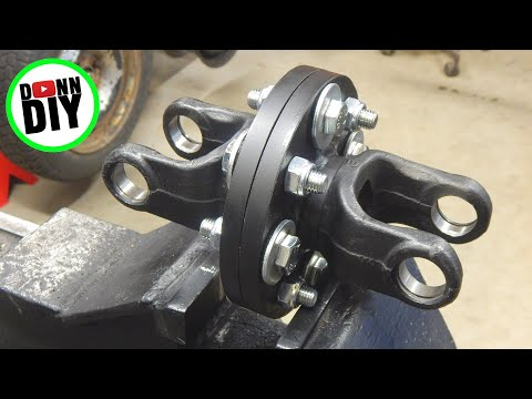 Tracked Amphibious Vehicle Build Ep. 9 Mounting CVT Welding Differential Axle Dampers
