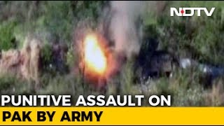 Army Releases Video Of Recent Fire Assault On Pak Posts