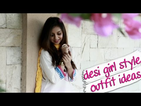 Desi Girl Style Indian Fashion Look Book With Masala Chai and Iktara