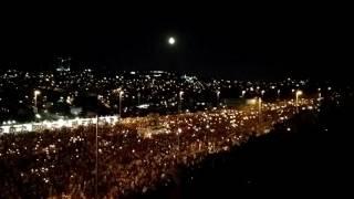 21.07.2016 İstanbul Boğaziçi köprüsü Darbeye karşı tek ses