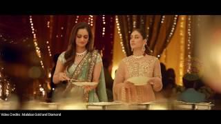 Miss World MANUSHI CHILLAR with KAREENA KAPOOR KHAN in Jewellery Ad. | Malabar Gold & Diamonds |