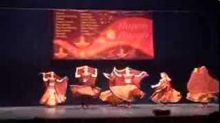 Rajasthani dance by Svetlana Tulasi & Chakkar Group