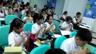 105.7.18千與千尋--亞洲陶笛節交流教學在竹高結束演奏